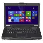 "Toughbook CF-54 Prime Intel Core i5-6300U 2.40GHz Notebook PC - 8GB RAM, 128GB SSD, 14"" HD (1366x768) Display, Intel HD Graphics 520, 802.11a/b/g/n/ac, Bluetooth, GPS, DVD SuperMulti, Windows 7 Pro (includes Win 10 Pro License) for Jacksonville PD"