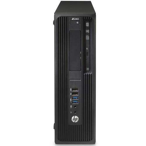 Workstation Z240 - SFF - 1 x Core i7 7700 / 3.6 GHz - RAM 8 GB - HDD 2 TB - DVD-Writer - HD Graphics 630 - GigE - Win 10 Pro 64-bit - vPro - monitor: none - keyboard: US