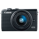 EOS M100 24.2MP Mirrorless Digital Camera with EF-M 15-45mm f/3.5-6.3 IS STM Lens - Black