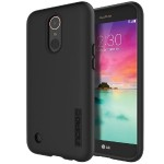 DualPro - The Original Dual Layer Protective Case for LG K20 V - Black/Black