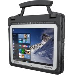"""Toughbook 20 - Tablet - with keyboard dock - Core m5 6Y57 / 1.1 GHz - Win 10 Pro - 8 GB RAM - 256 GB SSD - 10.1"""" IPS touchscreen 1920 x 1200 - HD Graphics 515 - Wi-Fi, Bluetooth - 4G - rugged - with Toughbook Preferred / Absolute DDS Premium for Education"""