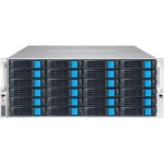EliteNAS EN436W12 4U 36-bay (24 front +12 back) NAS/iSCSI Rackmount Unified Storage
