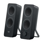 Z207 - Speakers - for PC - 2.0-channel - wireless - Bluetooth - 5 Watt (total) - black