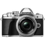 OM-D E-M10 Mark III - Digital camera - mirrorless - 16.1 MP - Four Thirds - 4K / 30 fps - 3x optical zoom M.Zuiko Digital ED 14-42mm EZ lens - Wi-Fi - silver