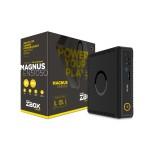 ZBOX MAGNUS EN51050 - Mini PC - 1 x Core i5 7500T / 2.7 GHz - RAM 8 GB - SSD 120 GB, HDD 1 TB - NVIDIA GeForce GTX 1050 - GigE - WLAN: 802.11b/g/n/ac, Bluetooth 4.2 - Win 10 Home 64-bit - monitor: none