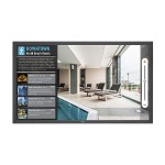 "V404-T - 40"" Class - V Series LED display - digital signage / interactive communication - with touchscreen - 1080p (Full HD) 1920 x 1080 - edge-lit - with Raspberry Pi Compute Module 3 (RPi3CM16GB), Interface Board (DS1-IF10CE)"