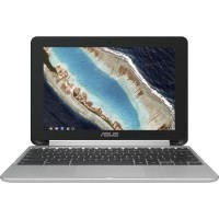 "ASUS Chromebook Flip C101PA-DB02 Rockchip RK3399 Quad-Core 2GHz Notebook PC - 4GB LPDDR3 (On Board), 16GB EMMC, 10.1"" WXGA (1280x800) IPS Display, Touchscreen, 802.11ac, Bluetooth 4.0, Chrome OS C101PA-DB02"
