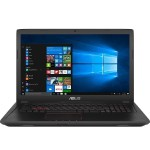 "FX53VD RH71 7th Gen Intel Core i7-7700HQ 2.8GHz Gaming Notebook PC -  8GB RAM, 1TB HDD, 15.6"" 1920 x 1080 (Full HD), NVIDIA GeForce GTX 105, 802.11ac, Webcam, Microsoft Windows 10 Home 64-bit"