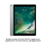 12.9-inch iPad Pro Bundle - 12.9-inch iPad Pro Cellular 512GB (Space Gray) with Smart Keyboard and Apple Pencil