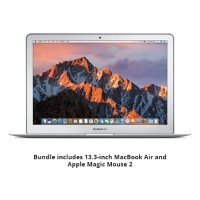 Apple 13.3-inch MacBook Air Bundle - 13.3-inch MacBook Air with 1.8GHz dual-core Intel Core i5, 8GB memory, 256GB SSD, Intel HD Graphics 5000 with Apple Magic Mouse 2 MQD42LL/A