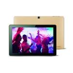 "Koral 10X Allwinner A64 Quad Cortex-A53 1.2GHz Tablet PC - 1GB RAM, 16GB Flash Memory, 10.1"" Touchscreen IPS LCD, 802.1.1 b/g/n, 5000mAH, Android 7.0 - Gold Metal"