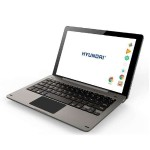 "Koral 10X + Keyboard Allwinner A64 Quad Cortex-A53 1.2GHz Tablet - 1GB RAM, 16GB Flash Memory, 10.1"" Touchscreen IPS LCD, 802.1.1 b/g/n, 5000mAH, Android 7.0 - Silver Metal"