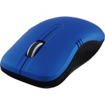 Wireless Notebook Optical Mouse, Commuter Series - Matte Blue