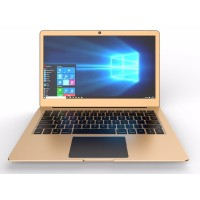 "TravelTek Full Metal M13 Travelbook Laptop - Intel Celeron Processor Apollo Lake N3350 1.10GHz, 4GB DDR3L RAM, 32GB Internal Flash, Expandable SSD Slot up to 480GB (SSD Not Included), 13.3"" FHD 1920x1080 IPS Screen, HD Graphics 500, BT, WiFi, Win 10 M13"