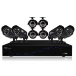 8 Channel 960H DVR with HDMI, 500 GB HDD and 8 x 480 TVL Cameras (30ft NV) - Refurbished