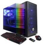 Gamer Supreme Liquid Cool SLC8760CPG w/ Intel i7-8700K 3.7GHz CPU, 16GB DDR4, NVIDIA GeForce GTX 1070 8GB, 120GB SSD, 2TB HDD, 802.11AC WiFi PCI-E Card, Liquid Cooling, Custom RGB Lighting, 7 Colors Gaming Keyboard, USB Gaming Mouse & Win 10 Home 64-Bit