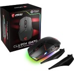 Clutch GM70 USB 2.0 18000 dpi Cable/Wireless Gaming Mouse - Black