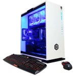Gamer Supreme Liquid Cool - 8th Gen Intel Core i7-8700K 3.7GHz CPU, 16GB DDR4, NVIDIA GeForce GTX 1060 6GB, 240GB SSD, 2TB HDD, 802.11AC WiFi PCI-E Card, Liquid Cooling, 7 Colors Gaming Keyboard, USB Gaming Mouse & Win 10 Home 64-Bit