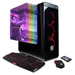 Gamer Supreme Liquid Cool - Intel i7-8700K 3.7GHz CPU, 16GB DDR4, NVIDIA GeForce GTX 1080 Ti 11GB, 240GB SSD, 3TB HDD, Liquid Cool, 802.11AC WiFi PCI-E Card, Custom RGB Lighting, 7 Colors Gaming Keyboard, USB Gaming Mouse & Win 10 Home 64-Bit