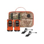 Talkabout T265 - Sportsman Edition - Go Adventure - portable - two-way radio - FRS/GMRS - 462 - 467 MHz - 22-channel - blaze orange (pack of 2)