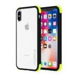 Reprieve [SPORT] Protective Case with Reinforced Corners for iPhone X - Volt/Black/Clear