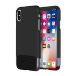 Edge Chrome Two Piece Slider Case for iPhone X - Black