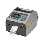 ZD620 - Label printer - thermal transfer - Roll (4.65 in) - 300 dpi - up to 359.1 inch/min - USB 2.0, LAN, serial, USB host, Bluetooth LE - tear bar - gray