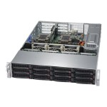 "Supermicro SuperServer 6029P-WTRT - Server - rack-mountable - 2U - 2-way - RAM 0 GB - SATA - hot-swap 3.5"" - no HDD - AST2500 - GigE, 10 GigE - monitor: none"