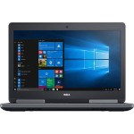 "Precision Mobile Workstation 7520 7th Gen Intel Core i7 7820HQ / 2.9 GHz - Win 10 Pro 64-bit - 16 GB RAM - 512 GB SSD Class 40 - 15.6"" 1920 x 1080 (Full HD) - Radeon Pro WX 4130 - Wi-Fi, Bluetooth"