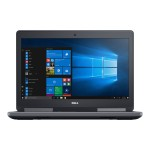 "Precision Mobile Workstation 7520 - Core i7 6820HQ / 2.7 GHz - Win 7 Pro 64-bit - 8 GB RAM - 1 TB HDD - 15.6"" 1920 x 1080 (Full HD) - Radeon Pro WX 4130 - Wi-Fi, Bluetooth"