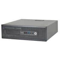 HP Inc. ProDesk 600 G1  Intel Core i5-4670 Quad-Core 3.40GHz Small Form Factor - 8GB RAM, 500GB HDD, DVD+/-RW, Integrated Graphics, Gigabit Ethernet, Windows 10 Professional 64-bit - Refurbished PC2-0958