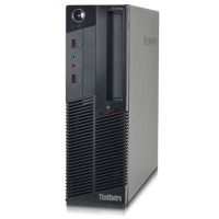 Lenovo ThinCentre M90p - Small Form Factor - Intel Core i5-650 3.2Ghz, 4GB RAM, 250GB HDD, Integrated Graphics, Gigabit Ethernet, Windows 10 Professional 64-bit - Refurbished PC3-0361
