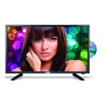 "24"" Class LED TV with Built-in SOUND BAR & DVD Player"