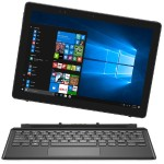 "Latitude 5285 2-in-1 Laptop - Intel Core i7-7600U 2.8Ghz, 16GB DDR3L RAM, 256GB SSD, Wi-Fi, Bluetooth 4.0, Intel HD Graphics, 12.3"" FHD Touchscreen (1920 x 1080), 42 WHr Polymer, Windows 10 Pro 64-bit - Black - Manufacturer Refurbished"