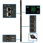2.9kW Single-Phase Switched PDU with LX Platform Interface, 120V Outlets (24 5-15/20R), 10 ft. Cord w/L5-30P, 0U, TAA