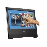 "Barebone X50V6U3 All-in-One PC for POS, POI, Kiosk Applications - Intel Core i3-7100U Dual-Core 2.40GHz, 15.6"" LCD (1366x768) 16:9 High Power LED Touchscreen Display, Intel HD Graphics 620, 802.11b/g/n - Black"
