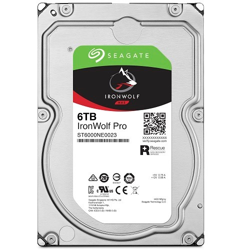PCM | Seagate, 6TB IronWolf Pro 3 5