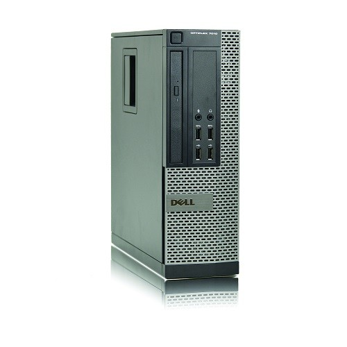 Dell 7010 Intel Core i5-3470S Quad-Core 2.9GHz SFF Desktop PC - 4GB DDR3, 500GB SATA HDD, Integrated Graphics, Gigabit Ethernet, DVD-ROM, Microsoft Windows 10 Pro 64-bit - Refurbished