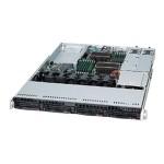 Supermicro SC815 TQC-R706WB2 - Rack-mountable - 1U - extended ATX - SATA/SAS - hot-swap 750 Watt - black