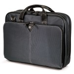 """The Graphite Nylon Briefcase - Notebook carrying case - 16"""" - graphite"""