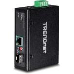 TI-UF11SFP - Fiber media converter - GigE - 10Base-T, 100Base-TX, 1000Base-T - RJ-45 / SFP (mini-GBIC) - up to 24.9 miles