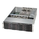 Supermicro SC836 BE1C-R1K23B - Rack-mountable - 3U - enhanced extended ATX - SATA/SAS - hot-swap 1200 Watt - black