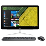 "Aspire Z24-880 Wtus All-in-one 7th Gen Intel Core i3 7100T 3.4GHz, RAM 6GB, HDD 1TB - DVD-Writer - HD Graphics 630 - GigE - WLAN: 802.11a/b/g/n/ac, Bluetooth 4.2 - Win 10 Home 64-bit - monitor: LED 23.8"" 1920 x 1080 (Full HD) touchscreen"