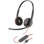 Blackwire 3220, USB-A Corded UC Headset