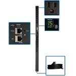 1.4kW Single-Phase Switched PDU with LX Platform Interface, 120V Outlets (16 5-15R), 10 ft. Cord w/5-15P, 0U, TAA