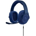 G433 7.1 Wired Surround Gaming Headset - Blue