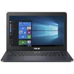 "VivoBook E402WA WH21 - E2 6110 / 1.5 GHz - Win 10 Home 64-bit - 4 GB RAM - 64 GB eMMC - 14"" 1366 x 768 (HD) - Radeon R2 - dark blue IMR (LCD cover)"