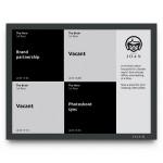 JOAN Board - Wireless 13-Inch Conference Room Display - Black - Non-Interactive - IEEE 802.11 b/g/n (Wi-Fi)