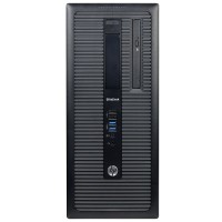 HP Inc. EliteDesk 800 G1 Intel Core i5-4570 Quad-Core 3.20GHz Desktop PC - 16GB DDR3 SDRAM, 2TB 7200rpm SATA, DVD-ROM, Microsoft Windows 10 Pro 64-bit - Refurbished PC2-0962