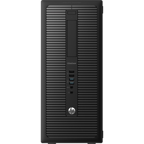 EliteDesk 800 G1 Tower PC - Intel Core i5-4570 3.2 GHz, 8 GB DDR3, 1 TB HDD, DVD, 4 x USB 3.0, Gigabit Ethernet, Windows 10 Pro 64-bit - Refurbished